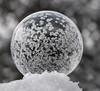 starry, starry bubble (marianna_a.) Tags: p1750582 frozen soap bubble macro ice crystals bokeh marianna armata abstract winter canada play fun
