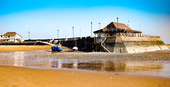 Quiet Viking Bay (philbarnes4) Tags: vikingbay broadstairs thanet kent england philbarnes dslr nikond5500 water sand february holiday sunny