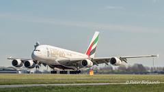 A6-EEW   Airbus A380-800 - Emirates (Peter Beljaards) Tags: aviationphotography jetliner schiphol amsterdam nikond5500 nikon70300mmf4556 airbusa380800 a6eew emirates takeoff departure 36l rwy36l polderbaan haarlemmermeer ams eham msn153 gp7200 airbus a380