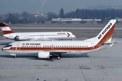 Air Europa Boeing 737-375 EC-ECS (c/n 23707) (Manfred Saitz) Tags: salzburg airport szg lows air europa boeing 737300 733 b733 ececs ecreg