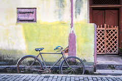 #SriLanka as seen by #ArturoNahum (Arturo Nahum) Tags: srilanka dutchfortress galle arturonahum travel facade windows doors streetphotography bicycle pastel vintage