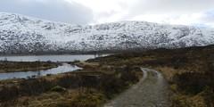 Track to Loch Cluanie, Highlands of Scotland, Feb 2018 (allanmaciver) Tags: loch cluanie lonely remote snow track bog moor bleak winter grey highlands scotland allanmaciver
