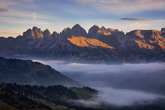 land of miracles... (A.K_Photography Hamburg) Tags: afsnikkor85mm114g autumn dolomites italy landscape mountains nature nikond810 rocks trentino