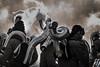 The Battle of Basel Fasnacht 2018 (paulchapmanphotos) Tags: basel fasnacht steampunk steampunkt marching band music mayem leica m240 90mm collapsible lens f4 switzerland