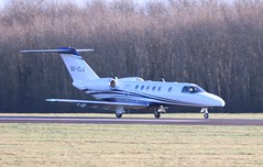 180119 Biggin OO-CLA (Andy Patsalides) Tags: 180119oocla cessna525ccitationjetcj4 cessna cj4 citationjet