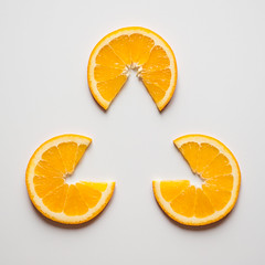 Triangle Orange (nophoto4jojo) Tags: activeassignmentweekly orange triangle shape geometry food art organic graphic juxtaposition nikon d700 2470 lightroom bestofweek1 besofweek2 bestofweek3 bestofweek4 bestofweek6
