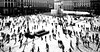 city ants (poludziber1) Tags: matchpointwinner milano blackwhite people city cityscape urban