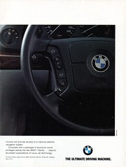 1995 BMW 7 Series Page 2 Aussie Original Magazine Advertisement (Aussie Car Adverts) Tags: 1 5 7 9 b m w bmw s series cool classic collectors collectible class car saloon luxury l 90s