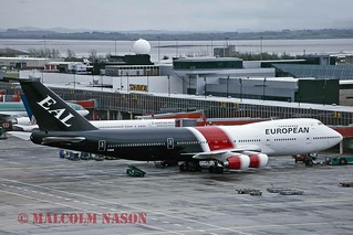 BOEING 747-236B G-BDXE EUROPEAN AIRCHARTER