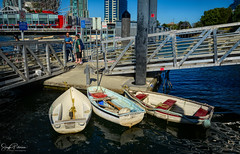 """Three's A Crowd"" - Village Ferry Dock/False Creek (SonjaPetersonPh♡tography) Tags: vancouver bc britishcolumbia canada nikon nikond5200 falsecreek falsecreekferries scienceworld scienceworldattelusworldofscience telusworldofscience downtownvancouver vancouverskyline cityscape burrardinlet granvilleisland boating kayaking city citycentre tourists"