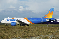 Allegiant Air A320-200 N258NV (birrlad) Tags: shannon snn international airport ireland aircraft aviation airplane airplanes airline airliner airlines airways parked apron ramp taxiway storage delivery flight airbus a320 a320200 a320214 n258nv allegiant air