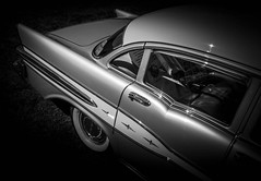 MOTORFEST '17 (Dave GRR) Tags: car auto vehicle classic retro vintage american muscle mono monochrome chrome old show motorfest canada olympus omd em1 1240