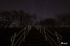Stairway to heaven (Onascht) Tags: nacht photoart meer dslr himmel sea outdoor stars südfriesland langzeitbelichtung treppe dangast longexposure art northsea stairway nordsee jadebusen nikon photography heaven sterne amateurphotographer digitalart photoshop lightroom d610