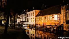 A night in Bruges (19) (Lцdо\/іс) Tags: brugge belgique belgium belgie beauty night belgian bruges reflexion reflection reflet travel trip citytrip city