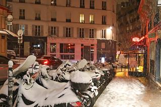 Rue des Abbesses - Paris (France)