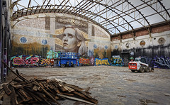 Last gasp (J-C-M) Tags: star lyric theatre building fitzroy demolish demolition art graffiti rone melbourne victoria australia