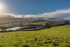 Pennine November 033 - Digley (Mark Schofield @ JB Schofield) Tags: south pennines pennineway peak peat snow winter landscape canon eos 5dmk4 rainbow digley meltham holmemoss holme valley hills yorkshire huddersfield