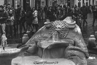 fontana Piazza di Spagna