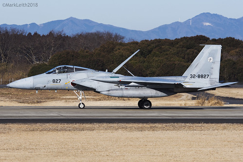 Japan Air Self Defence Force, McDonnell Douglas F-15J Eagle, 32-8827.