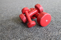 Y9 Day 50, Dumb bells (Weld with Rob) Tags: