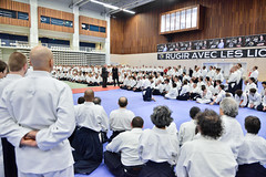 Stage internationale d'aikido au Palais des Sports