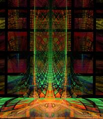 retbarflatlog 002 copy (raulyaraujo art) Tags: fractal fractals apophysis color artedigital art arte cor digitalart