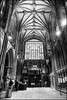 Lichfield cathedral entrance (G. Postlethwaite esq.) Tags: bw emount litchfield sonya7mkii staffordshire arches blackandwhite cathedral fullframe lights mirrorless monochrome people photoborder ribs