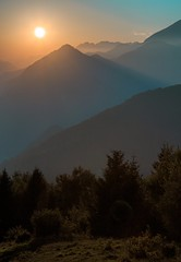Kobala2 (xskyven) Tags: slovinsko kobala landscape slovenia alps mountain sunset sun
