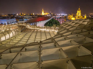 On top of the Metropol Parasol