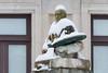 """Ignacio Zuluaga """"Dr. Honoris Causa"""" (Juan Ig. Llana) Tags: bilbao euskadi españa es escultura busto nevada nieve invierno pintor zuluaga museo zb explore"""