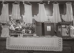Lifting Up the Petticoats (Anvilcloud) Tags: ontario canada ca carletonplace carletonplaceandbeckwithheritagemuseum bw vintageclothing