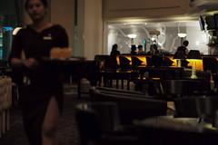 lobby bar, Surabaya, Indonesia (Plan R) Tags: lobby bar hotel waitress cocktail evening dark leica m 240 noctilux 50mm