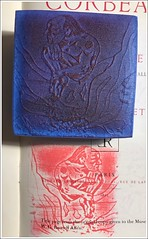 Playing around with foam stamps...making impressions! #art #ink #craft #maker (Brian Lapsley) Tags: art ink craft maker