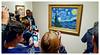 Starry, Starry Phones... (TravelsWithDan) Tags: vincentvangogh starrynight moma nyc museumofmodernart painting newyorkcity cellphones phonephoto samsunggalaxys6 candid streetphotography manhattan