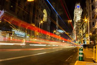 Anochecer por Madrid