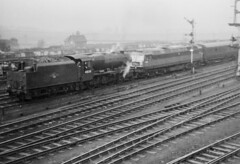 On Tow (4486Merlin) Tags: class47 consolidation diesellocos england europe exlms lms8fbigeight railways steam transport unitedkingdom westyorkshire normanton gbr d1519 47420 48130