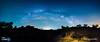 Hacia la eternidad (Iván Calamonte) Tags: cornalvo españa spain rugidero puente bridge estrellas stars nubes clouds night noche nightscape milkyway víaláctea longexposure extremadura árbol tree sky cielo skyscape nightphotography explore blue azul limpio clean