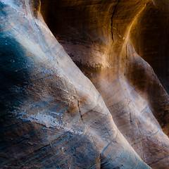 In Canyons 191 (noahbw) Tags: d5000 grandstaircaseescalantenationalmonument nikon utah williscreek abstract autumn canyon cliffs desert erosion landscape light lines natural noahbw rock slotcanyon square stone sunlight incanyons