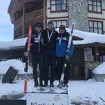 Kimberley Men's Overall Super-G Podium - Tied for 1st Tyler Werry and Adrien Grabinski; 3rd Kyle Alexander BCST