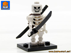 SKELETON ARMY 12 (baronsat) Tags: skeleton army lego minifig custom combo mix warriors battle undead magic game war knight tabletop