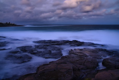 Rocky way (coolnikon) Tags: water night rocks seascapes nightscapes coastal ocean
