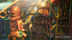 Deserted (Agaethon29) Tags: lego afol legography brickography legophotography minifig minifigs minifigure minifigures toy toyphotography macro cinematic legospace neoclassicspace spaceman classicspace space scifi sciencefiction ncs novateam customminifigure moc