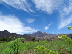 Monks Cowl hike view, Drakensberg