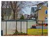 Neighborhood Fence XVI (Timothy Valentine) Tags: friday large fence attleboro massachusetts unitedstates us