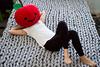 OHHIO blanket (kiddy factory) Tags: ohhio blanket throw knit stitch armknit craft bed bedroom diy lightgrey gray grey applehead