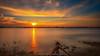 Sonnenuntergang am Vater Rhein (fotos_by_toddi) Tags: fotosbytoddi voerde niederrhein nrw nordrhein westfalen wolken rhein rhine wasser hochwasser long exposure langzeitbelichtung sonne sony sonya7 sonyalpha7 sky sun sunset sonnenuntergang alpha a7 alpha7