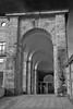 portalón Laboral (martineugenio) Tags: edificio arco arquitectura buildding lines líneas cabueñes gijón asturias españa spain europa europ bw monócromo