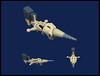 'Crossbow' Racing Aero-Yacht (Karf Oohlu) Tags: lego moc microscale crossbow racingyacht skyyacht