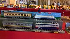 Winter Bricks 4 (Claudio Calzoni) Tags: moc lego train diorama engine vagon bricks carriage rail