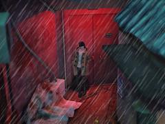 Rainy Days (#001) (PrinceMelon) Tags: gabriel sleepyeddy slink catwa physique siwan boots pants secondlife mudskin dura dino